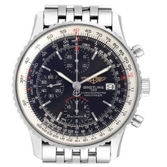 Breitling Navitimer Heritage Black Dial Men's Watch A13324 Box Papers