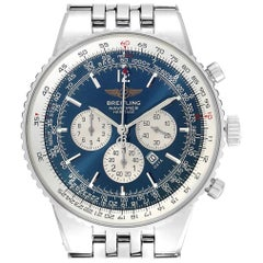Breitling Navitimer Heritage Blue Dial Automatic Men's Watch A35340