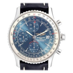 Breitling Navitimer Heritage Blue Dial Men's Watch A13324 Box Papers