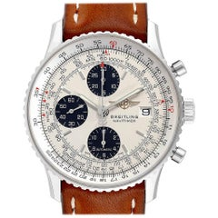 Breitling Navitimer Heritage Panda Dial Men's Watch A13324 Box Papers