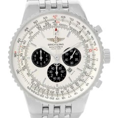 Breitling Navitimer Heritage Silver Dial Automatic Men's Watch A35340