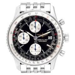 Breitling Navitimer II Black Dial Chronograph Men's Watch A13322