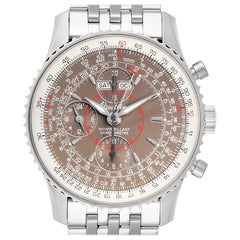 Breitling Navitimer Montbrillant Datora Steel Men's Watch A21330 Box Papers