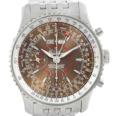 Breitling Navitimer Montbrillant Datora Steel Men's Watch A21330