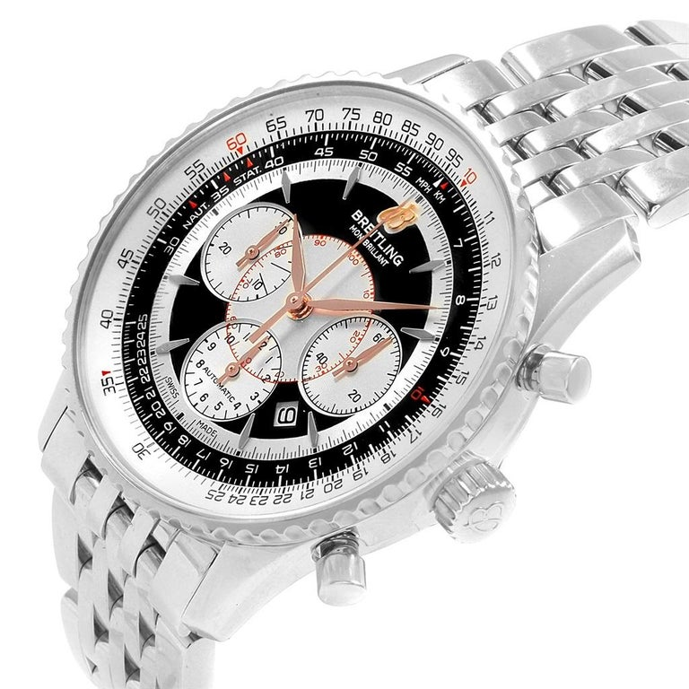 Breitling Navitimer Montbrillant Steel Chronograph Men S Watch A41370