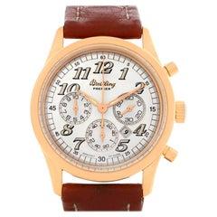 Breitling Navitimer Premier 18 Karat Rose Gold Watch H42035