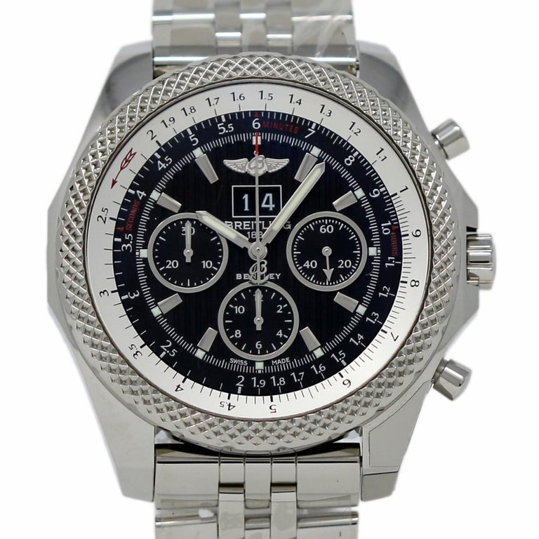 Breitling New Bentley Steel 6.75 A4436412/BE17 Box/Paper