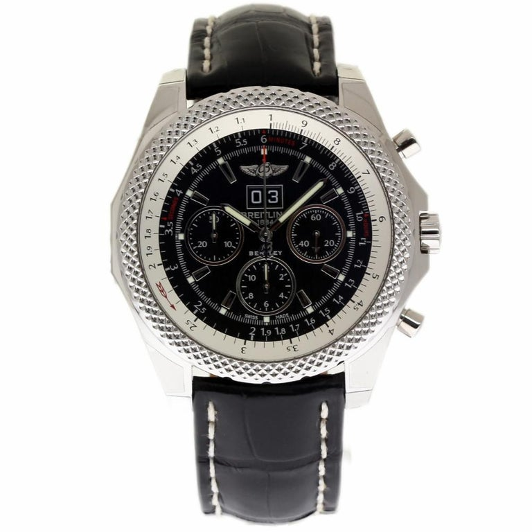 Breitling New Bentley Steel 6.75 Speed A4436412/BE17 Box