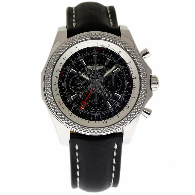 Breitling New Bentley Steel B04 GMT AB043112/BC69 Box