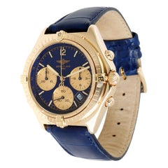 Breitling Sextant K55046 Unisex Watch in 18 Karat Yellow Gold