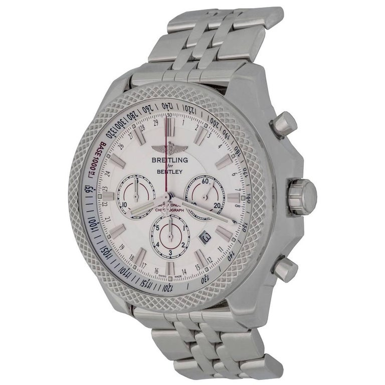 Breitling Stainless Steel Bentley Automatic Wristwatch Ref: Breitling Stainless Steel Bentley Barnato Automatic
