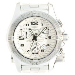 Breitling Stainless Steel Emergency Mission Chronograph