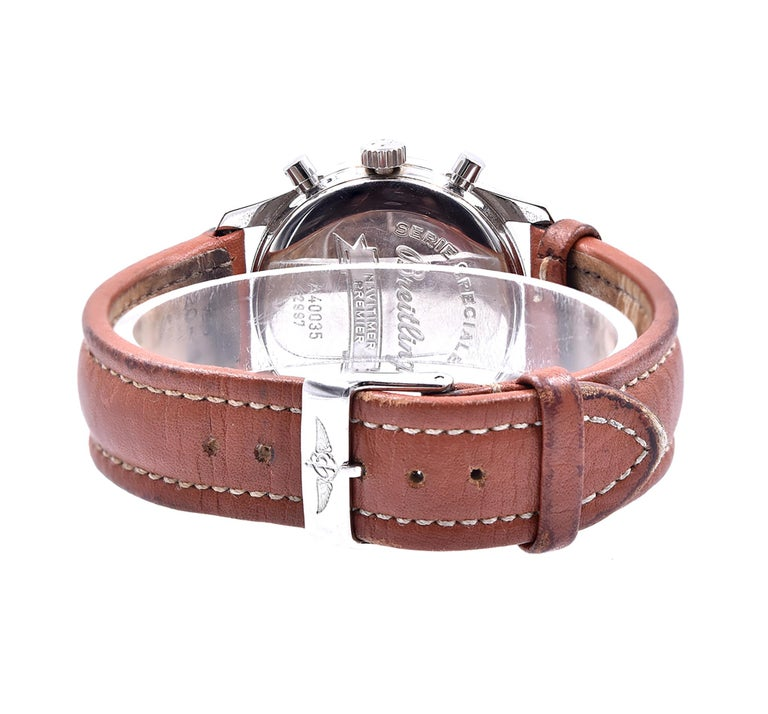 Men's Breitling Stainless Steel Premier Chronograph