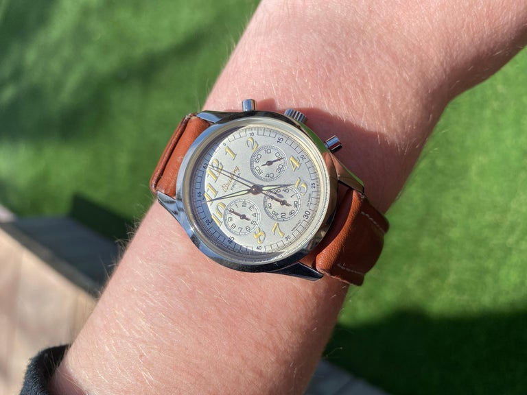 Breitling Stainless Steel Premier Chronograph 1