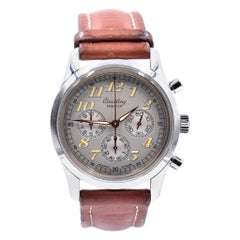 Breitling Stainless Steel Premier Chronograph