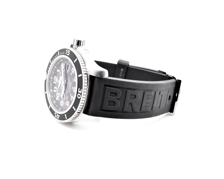 Men's Breitling Stainless Steel Super Ocean II For Sale
