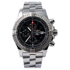 Breitling Super Avenger A13370, Certified and Warranty