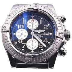 Breitling Super Avenger Stainless Steel Watch Ref. A13370