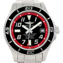 Breitling Superocean 42 Abyss Black Red Automatic Men's Watch A17364