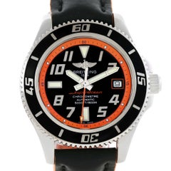 Breitling Superocean 42 Abyss Orange Limited Edition Men's Watch A17364