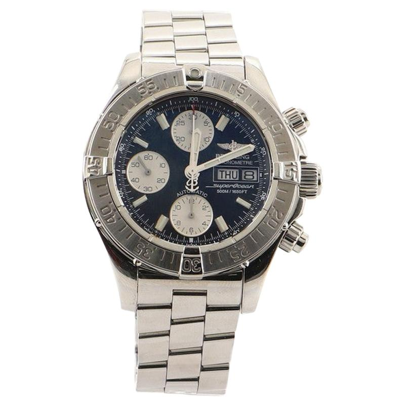 Breitling SuperOcean 500M Chronograph Automatic Watch Stainless Steel 42
