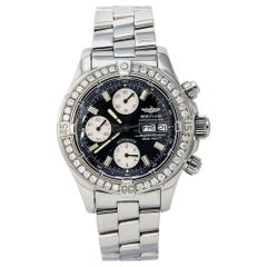 Breitling Superocean A13340 Men's Automatic Watch Chronograph Day Date