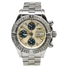 Breitling Superocean A13340, White Dial, Certified and Warranty