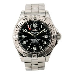 Breitling Superocean A17360, Certified and Warranty
