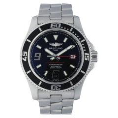 Breitling SuperOcean A17391 Men's Watch Box Papers