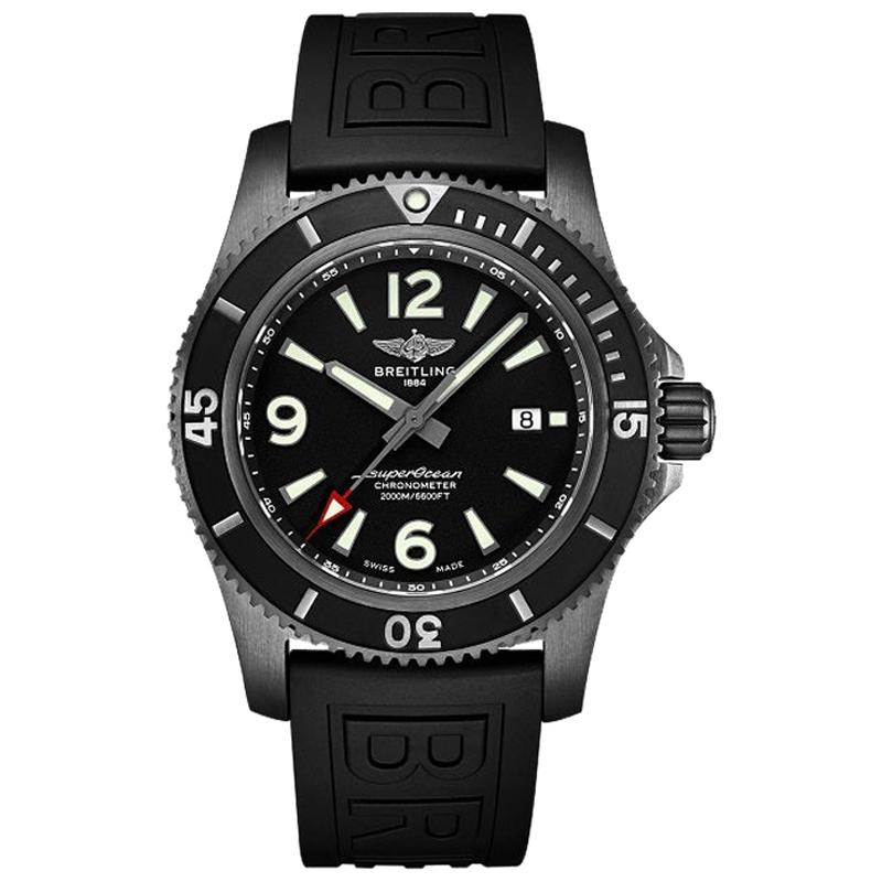 Superocean Automatic 46 Black Steel