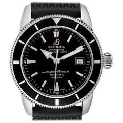 Breitling Superocean Heritage 42 Black Dial Steel Men's Watch A17321