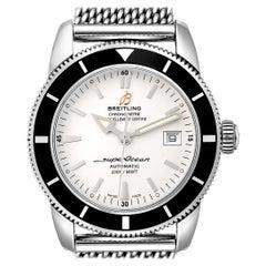Breitling Superocean Heritage 42 Steel Men's Watch A17321 Box Papers