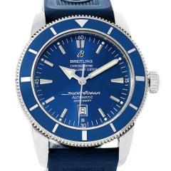 Breitling Superocean Heritage 46 Blue Dial Men's Watch A17320