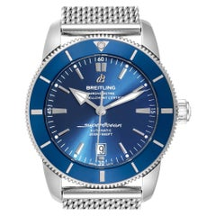 Breitling Superocean Heritage 46 Blue Dial Men's Watch AB2020 Box Card