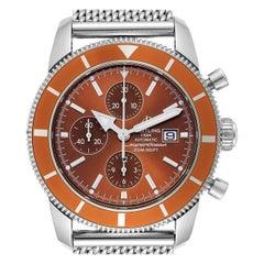 Breitling SuperOcean Heritage 46 Bronze Dial Men's Watch A13320 Box Papers