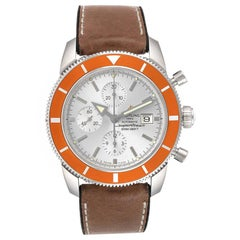 Breitling SuperOcean Heritage 46 Chrono Silver Dial Men's Watch A13320