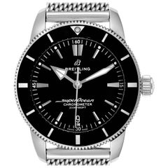 Breitling Superocean Heritage B20 44 Black Dial Men's Watch AB2030 Box Card