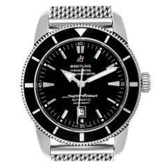 Breitling Superocean Heritage Black Dial Steel Men's Watch A17320