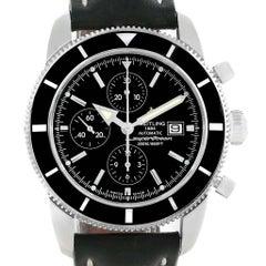 Breitling SuperOcean Heritage Chrono 46 Black Dial Men's Watch A13320