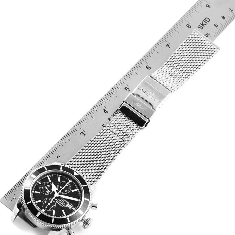 Breitling Superocean Heritage Chrono 46 Men's Watch A13320 Box Papers For Sale 8