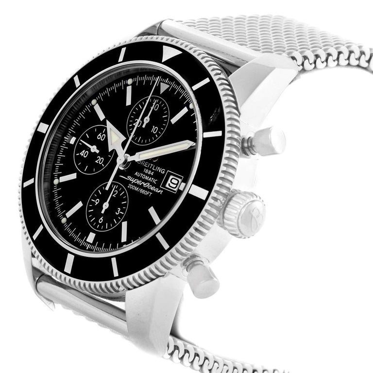Breitling Superocean Heritage Chrono 46 Men's Watch A13320 Box Papers For Sale 1