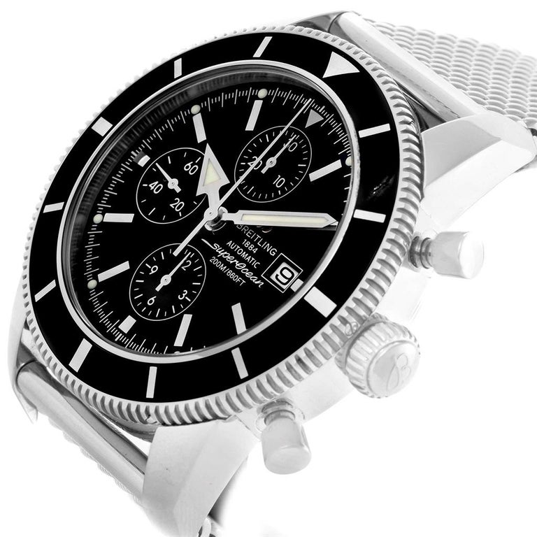 Breitling Superocean Heritage Chrono 46 Men's Watch A13320 Box Papers For Sale 5