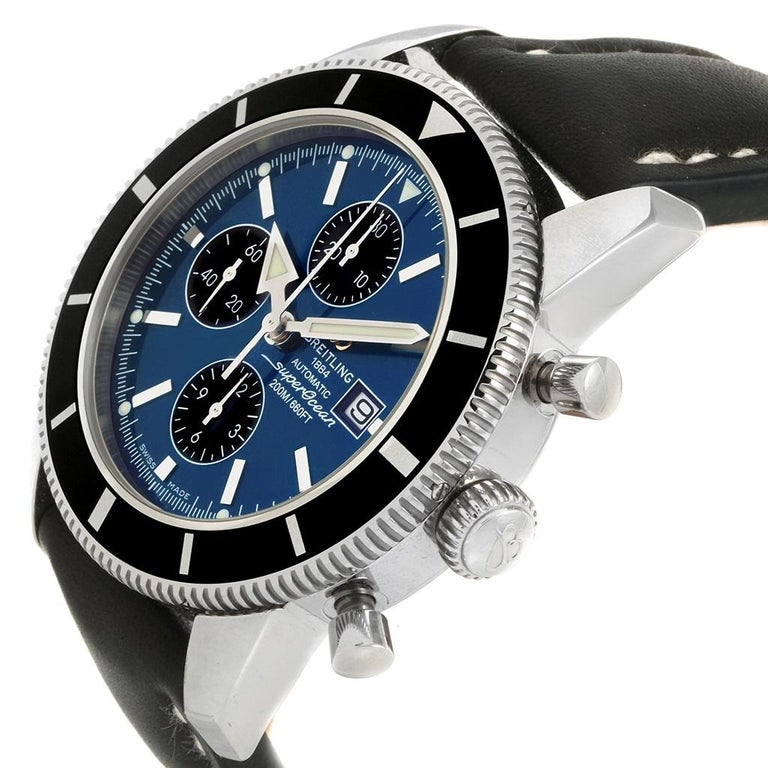 Breitling SuperOcean Heritage Chrono 46 Watch A13320 Box Papers For Sale 5