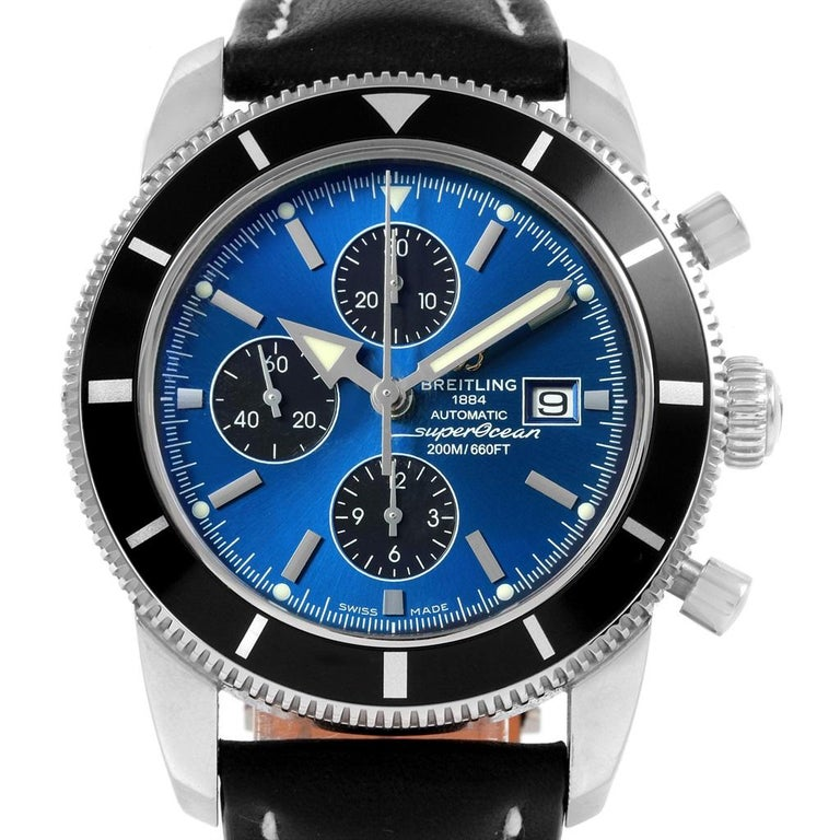 Breitling SuperOcean Heritage Chrono 46 Watch A13320 Box Papers For Sale