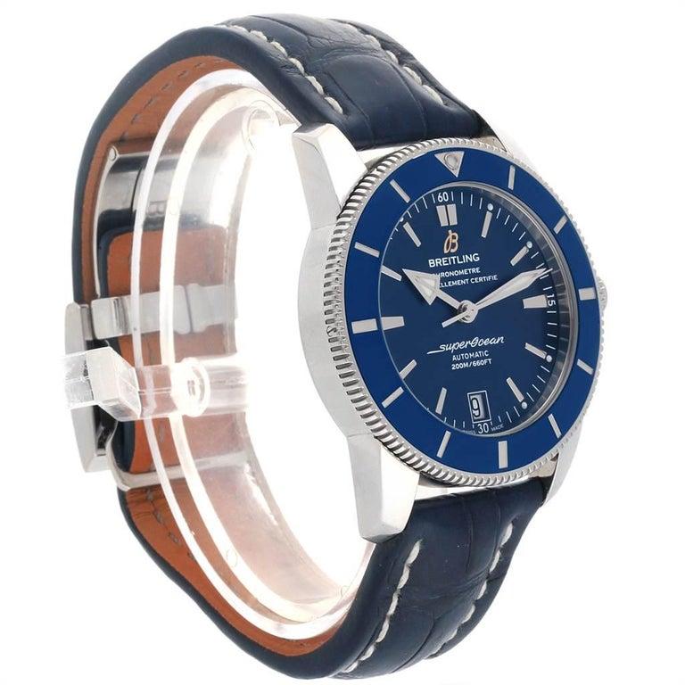 Breitling Superocean Heritage II 42 Steel Men's Watch AB2010 Box Papers For Sale 1
