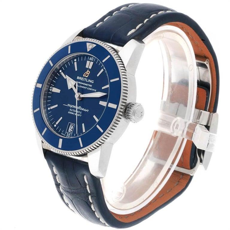 Breitling Superocean Heritage II 42 Steel Men's Watch AB2010 Box Papers For Sale 2
