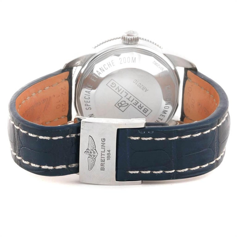 Breitling Superocean Heritage II 42 Steel Men's Watch AB2010 Box Papers For Sale 6