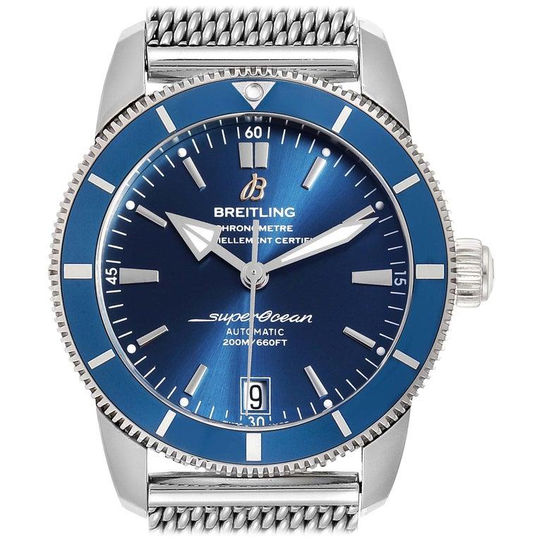 Breitling Superocean Heritage II 42 Steel Men's Watch Ab2010 Box Papers For Sale