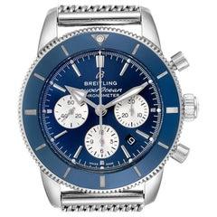 Breitling SuperOcean Heritage II B01 Blue Dial Steel Men's Watch AB0162