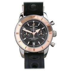 Breitling Superocean Heritage U2337012/BB81 Men's Stainless Steel and Rose Gold
